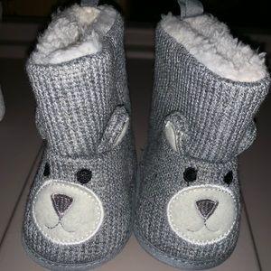 Adorable Soft Bear Boots